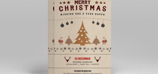 Christmas Party Invitation-V102