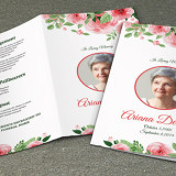 Funeral Program Template-V219