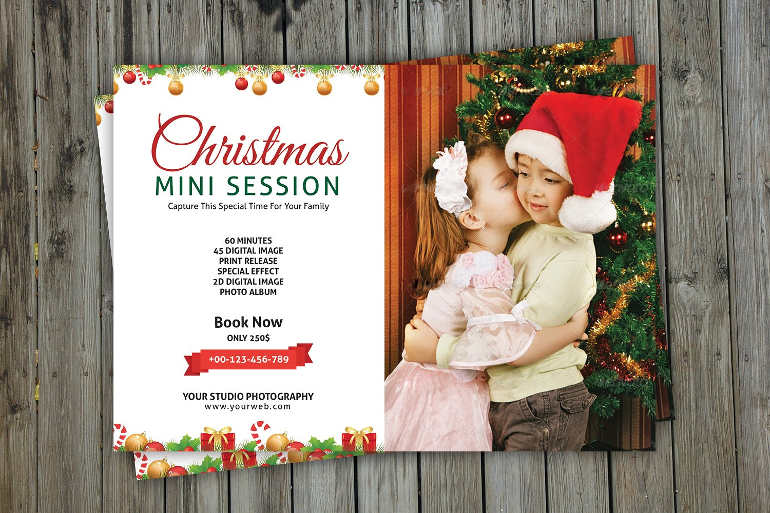 christmas mini session template sistec