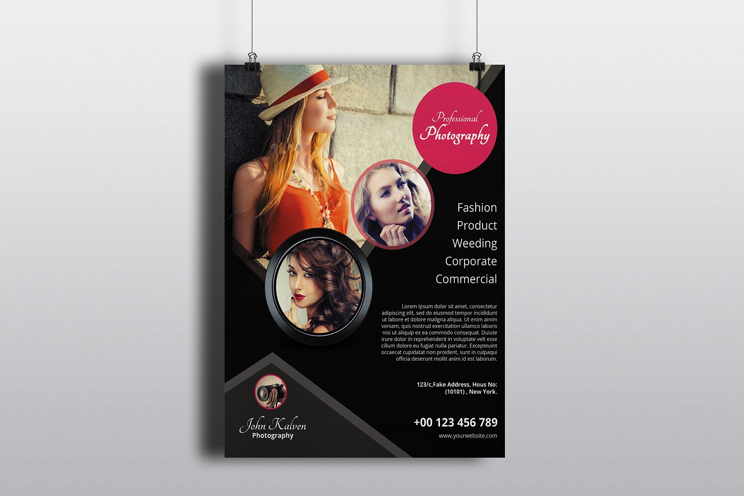 Photography Flyer Template Sistec