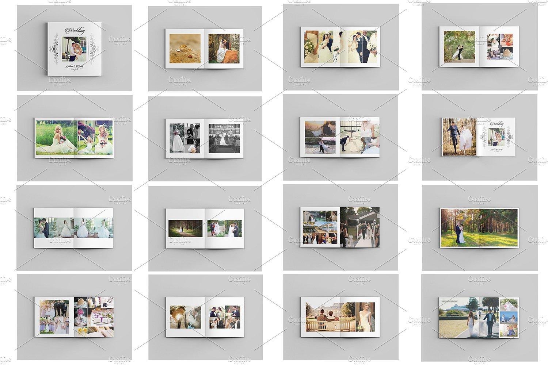 Wedding Photo Album Template Sistec