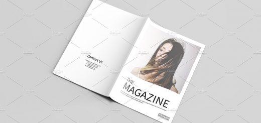 fashion lookbook magazine template archives sistec