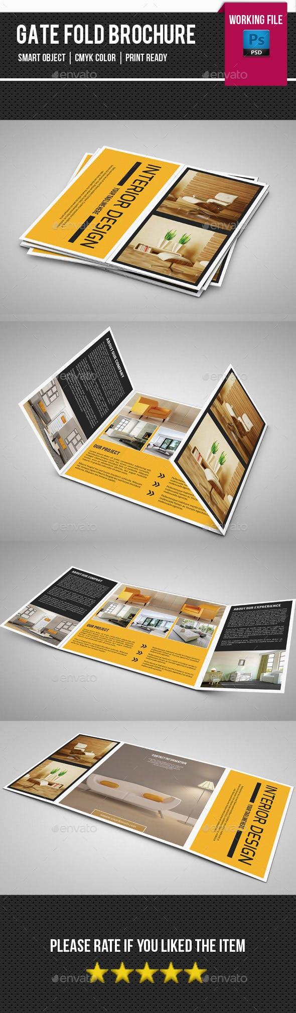 Square Gate fold Interior Brochure - SiStec